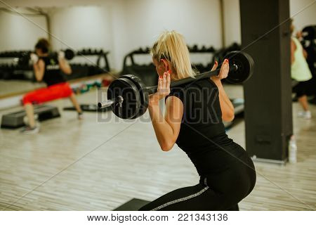 functional training coach. Fitness step trainer instructor