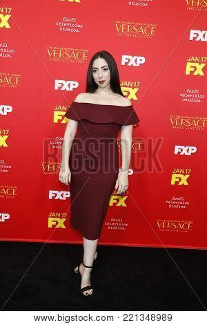 LOS ANGELES - JAN 8:  Olivia Sandoval at the