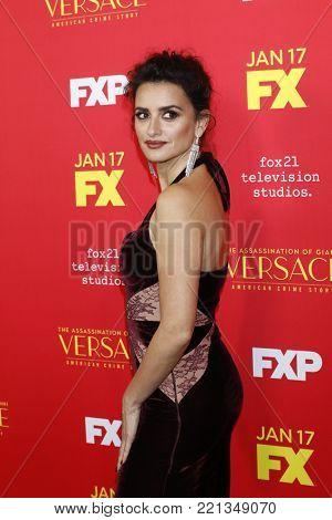 LOS ANGELES - JAN 8:  Penelope Cruz at the