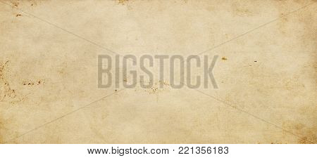 Aged dirty paper texture for design. Grunge paper background.