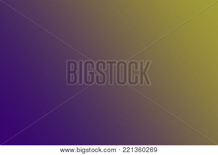 Complementary colors - yellow and purple - as background