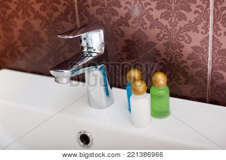 Hotel cosmetics kit. Health Bathroom Kit Spa
