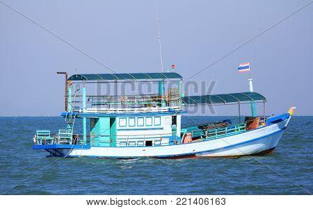 Generic Tourist Ship modified from Fishing Ship