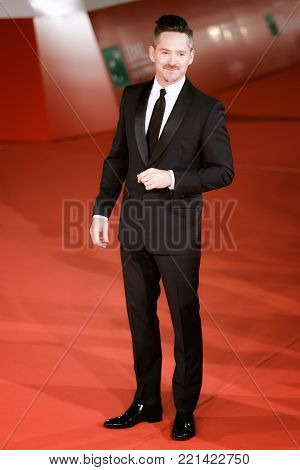 ROME, ITALY - OCTOBER 26: Scott Cooper walks a red carpet for Hostiles during the 12th Rome Film Fest at Auditorium Parco Della Musica on October.