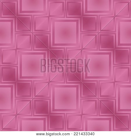 Pink metallic regular seamless pattern.  Metal foil with pattern. Glossy metal surface. Shiny metal.Pink metallic regular seamless pattern. Shiny metallic sufrase.