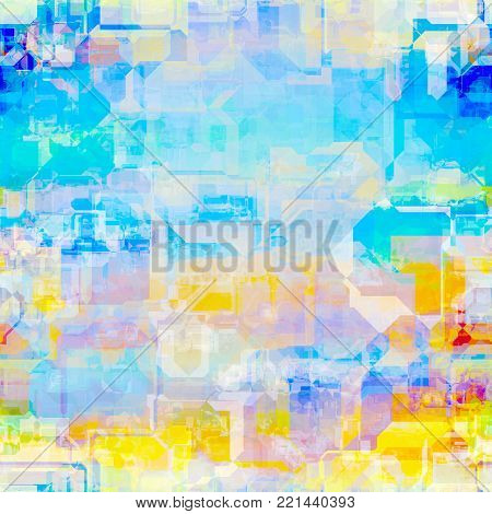 A abstract background design with digital geometric shapes.