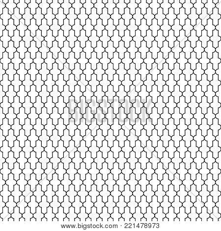 Vintage seamless geometric pattern, Quran Islam, vector seamless pattern Islam Muslim