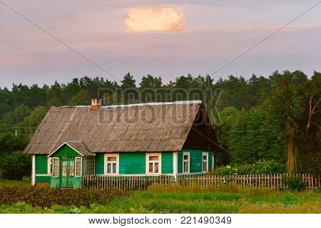 rural landscape, countryside, rural home house green