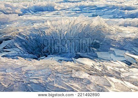 Ice background. Abstract ice texture. Winter Background. Hungary, Balaton lake.- stock image Ice Background Abstract Ice Texture Winter Background Ice Ice background. Abstract ice texture. Winter Background. Hungary Balaton Lake