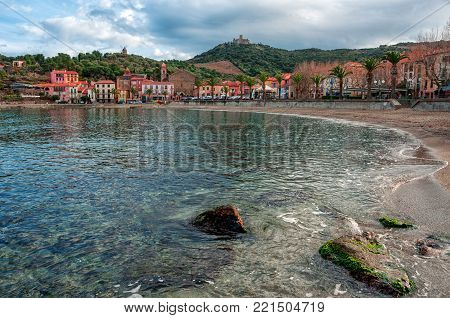 Collioure, France. French Regions Languedoc-roussillon And Midi-pyrénées. Occitanie .
