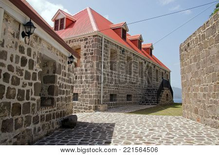 Fort Shirley in Portsmouth, Dominica, Lesser Antilles, Windward Islands, West Indies, Caribbean