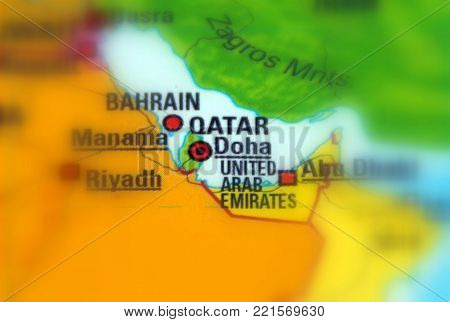 Qatar, Officially The State Of Qatar A Sovereign Country Located In Western Asia.