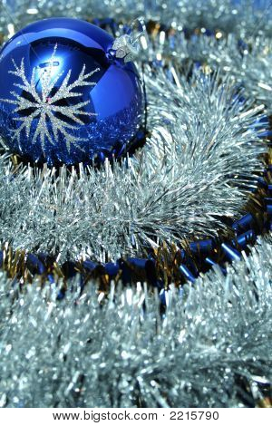 Christmas Glass Sphere With A Pattern 2