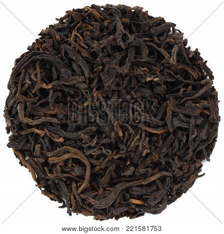 Traditional Liu Bao Hei Cha Dark Tea from Guangxi isolated