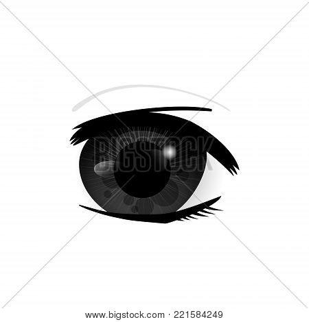 Human Eyes Closeup