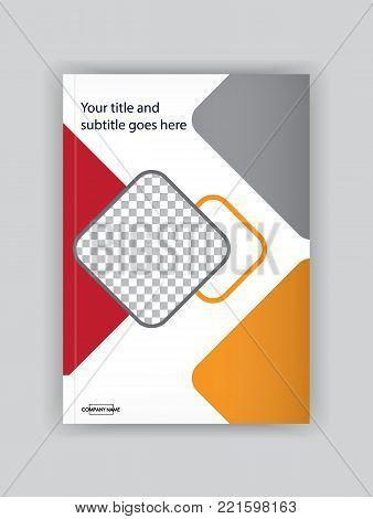 Business Book Cover Design Template. Good For Portfolio, Brochure, Annual Report, Flyer, Magazine, A