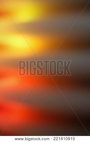 Abstract yellow, red and grey light shards background