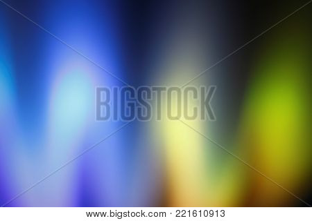 Abstract blue, purple, green and grey light shards background