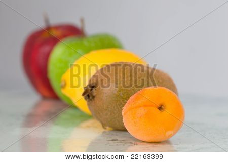 Line Of Fruits