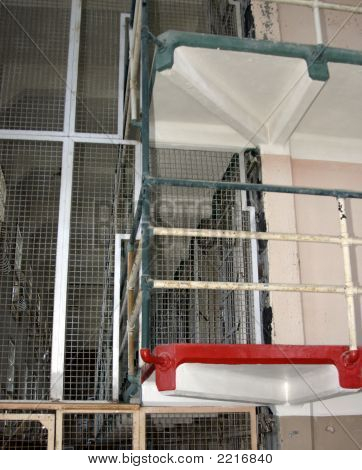 Bunks In A Jail Cell