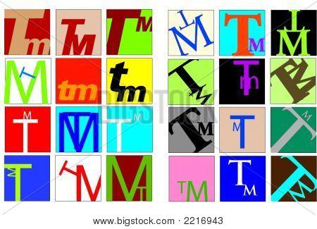Colored Initials