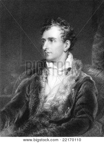 Antonio Canova (1757-1822). Engraved by J.Pofselwhite  and published in The Gallery Of Portraits With Memoirs encyclopedia, United Kingdom, 1833.