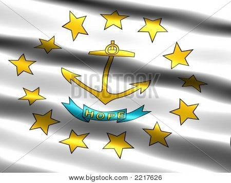 Flag Of The State Of Rhode Island