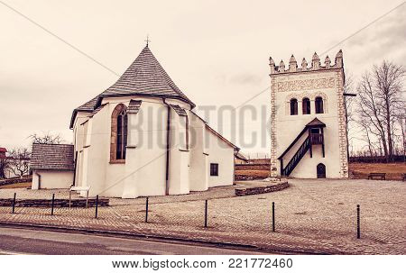 Roman Catholic Church Of St. Anna With Bell Tower, Strazky