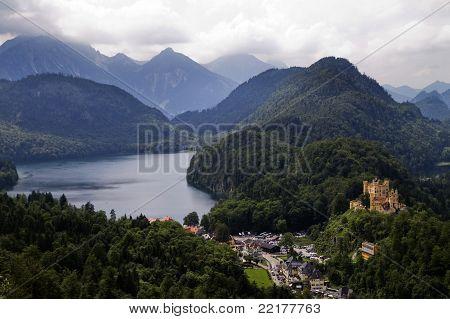 Castle Hohen Schwangau Bavaria Germany
