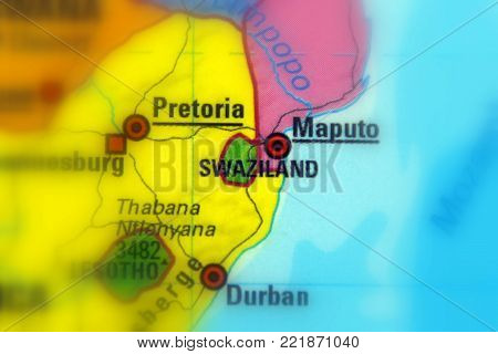 Swaziland, officially the Kingdom of Swaziland, also known as Eswatini.