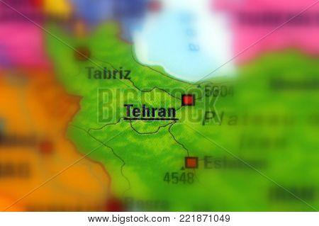 Tehran, the capital of Iran and Tehran Province.