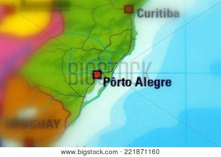 Porto Alegre, the capital city of the Brazilian state of Rio Grande do Sul.