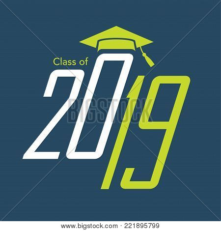 Class Of 2019 Congratulations Graduate Typography