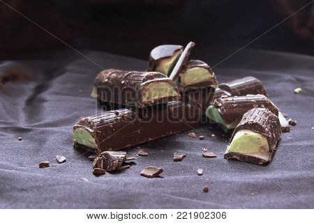 Chocolate With Mint Filling