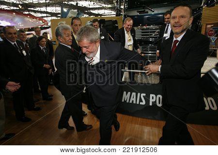 Luiz Inacio Lula Da Silva, Candidate Of President Of Brazil