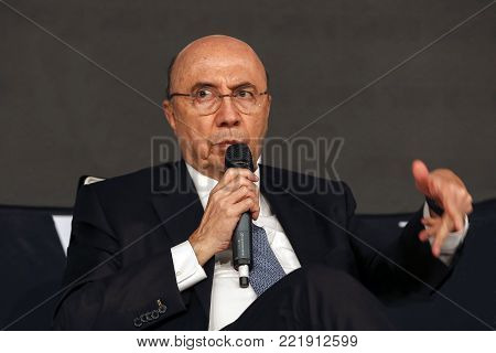 Henrique Meirelles, Minister Of Finance Of Brazil