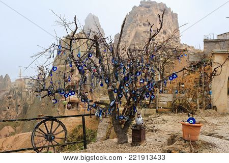Nazars Haning Off A Tree In Turkey
