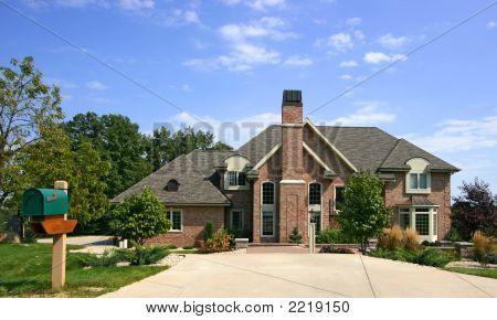 Luxurious Executive Home With Blue Sky