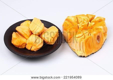 Jackfruit Jumpatong,Thailand Best Jackfruit, part peel and remove the seeds out and serve edible. Add another eager to serve