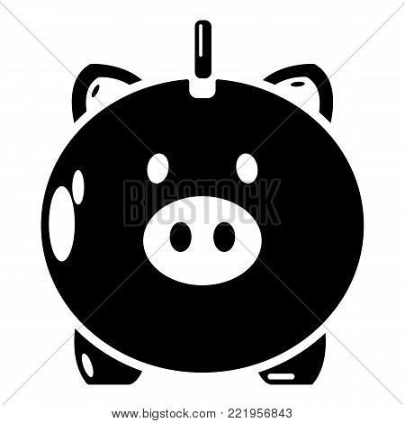 Safe money icon. Simple illustration of safe money vector icon for web