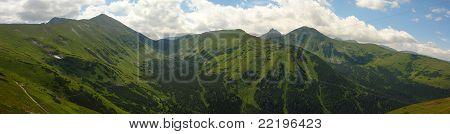 tatry, Tatras mountains panorama