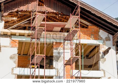 remodeling of a house
