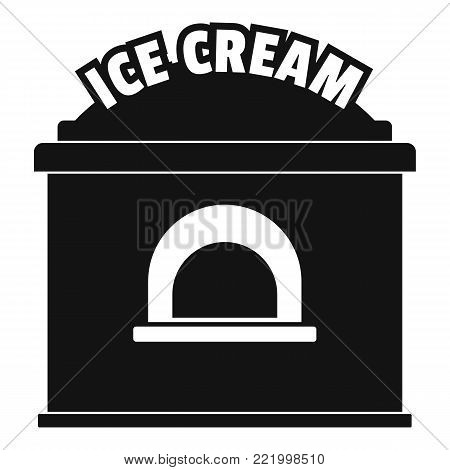 Ice creme trade icon. Simple illustration of ice creme trade vector icon for web.