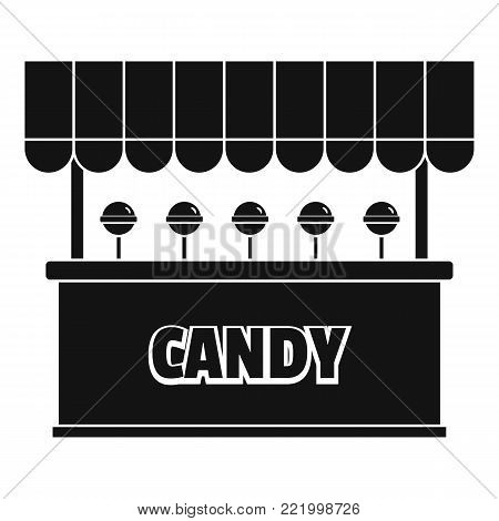 Candy selling icon. Simple illustration of candy selling vector icon for web.