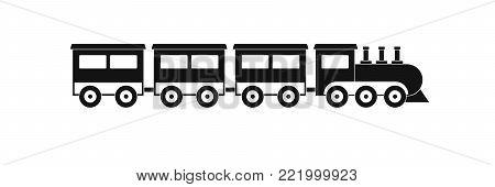 compartment train icon. Simple illustration of compartment train vector icon for web.
