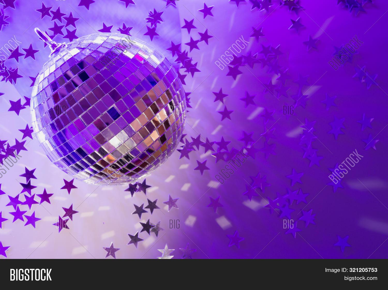 Christmas Disco Ball Image Photo