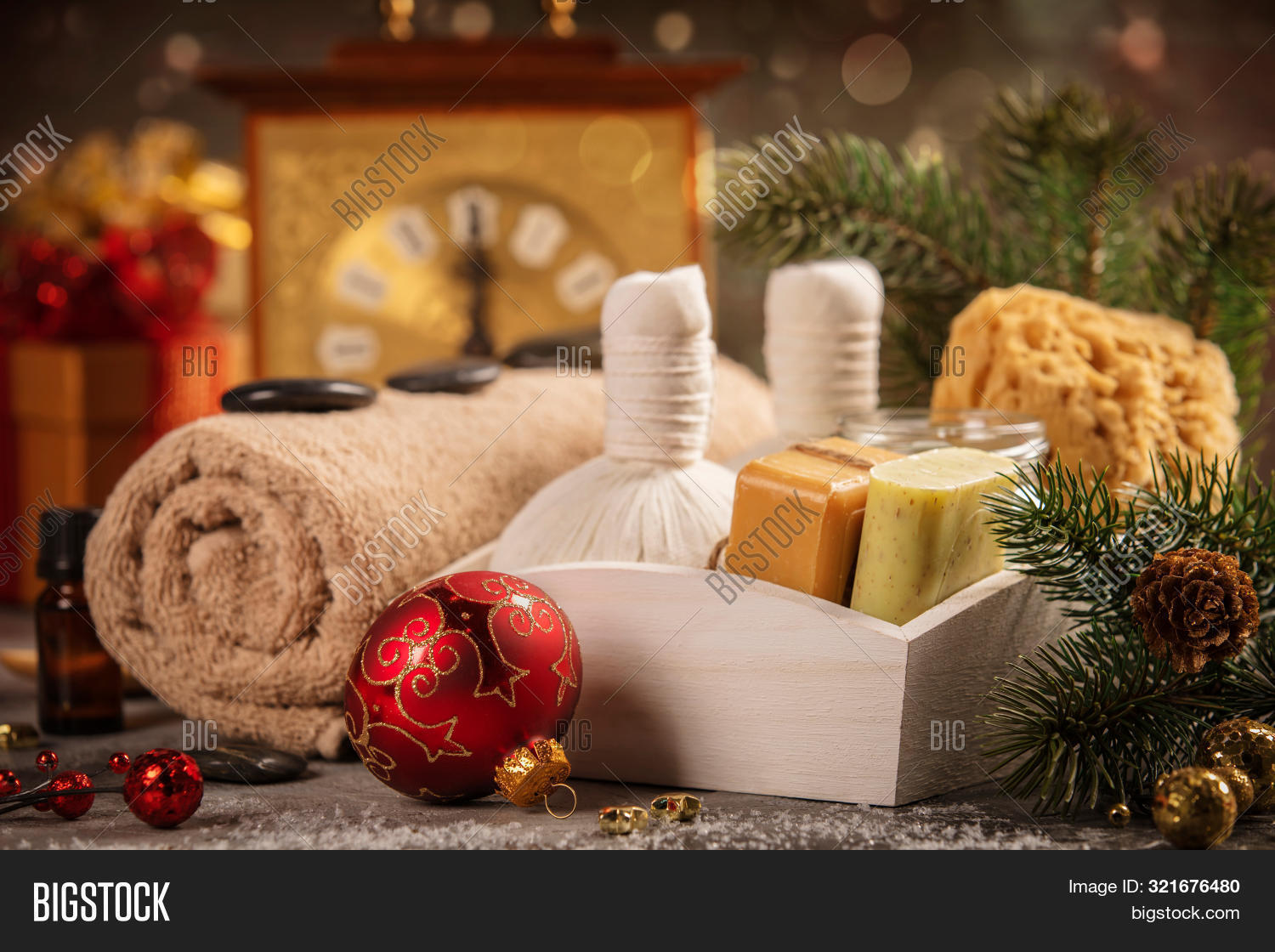 Spa Composition Image Photo Free Trial Bigstock