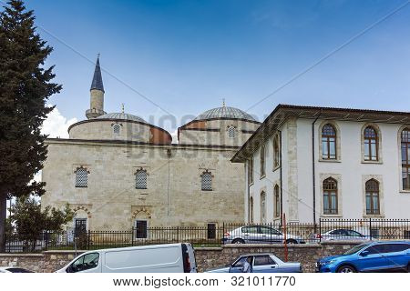 Edirne, Turkey - May 26, 2018: Eski Camii Mosque In City Of Edirne, East Thrace, Turkey