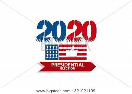 Vote 2020 Usa Banner Vector Photo Free Trial Bigstock