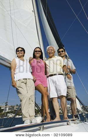 Family on Sailboat